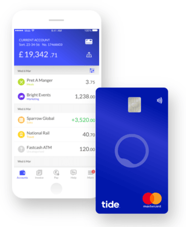 Finance your business with Tide
